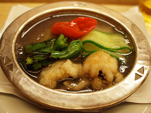 Roan-Kikunoi- eel stew