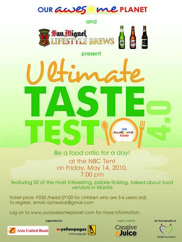 Ultimate Taste Test 4 (Final Banner)