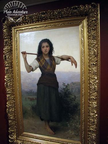 The Shepherdess with watermark
