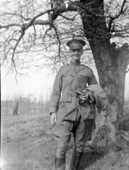 man in uniform 2 (rich701) Tags: vintage newjersey pipe nj smoking smoker dix pipesmoker burlingtoncounty fortdix campdix