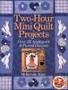 2 Hour Mini Quilt Projects_fc (MorenArteirA) Tags: quilt revista mini patchwork projetos moldes patchcolagem