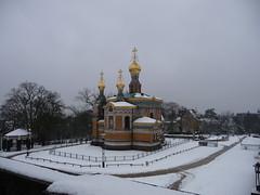 Russian Chapel (ivlys) Tags: city winter snow darmstadt russianchapel otw russischekapelle ivlys