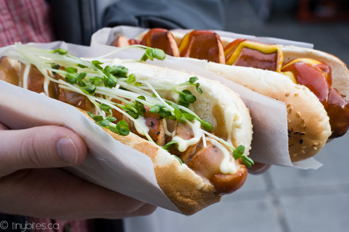 Japa Dog: miso mayo and turkey smokie