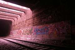 igneous processes ({ tcb }) Tags: winter light 2 urban baby brick eye boys minnesota stone train point graffiti photo all earth year skylight tracks boyz tunnel days crack kong pedro kings pigs static 365 uc exploration viper vanishing ultra peb rubble conquest trespassing tci akb urbex ibet earth2 365days
