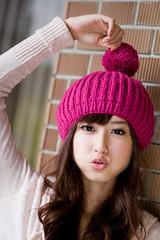 (swanky) Tags: portrait people woman cute girl beauty canon asian eos model asia pretty taiwan babe pout ntu taip