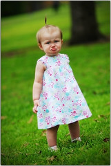 It's a Monday for Everyone (Extra Medium) Tags: baby girl toddler sad dress lips cry frown pucker pigtail sadface 13mo paidwork lookslikesomebodyhasacaseofthemondays