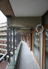 External balcony areas