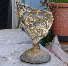 Cast of a section based on the Gloucester Candlestick.