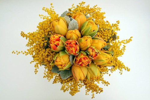 Mimosa Yellow Bouquet