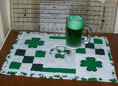 St. Patrick's Day Table Topper (Front)