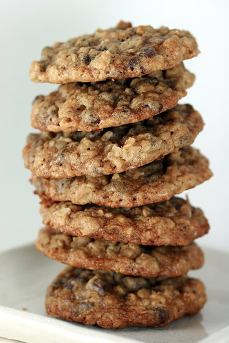 Heath Oatmeal Toffee Cookies & Chocolate Chip Oatmeal Cookies