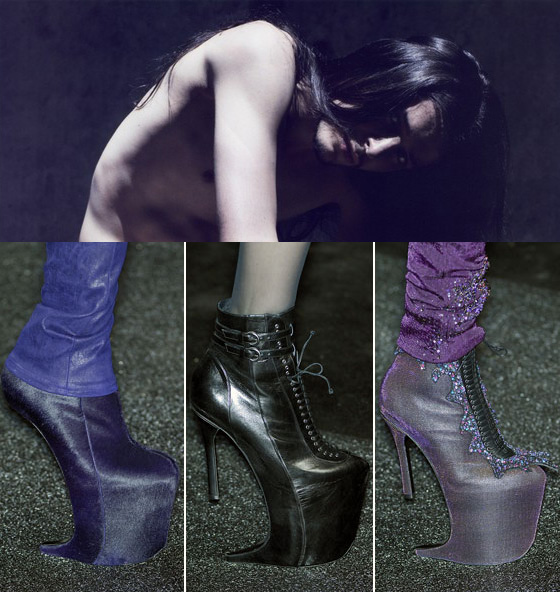 Theyskens Nina Ricci Shoes Fall RTW 2009