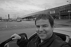 10/52 One Stop Shopping (Meteorry) Tags: selfportrait holland me netherlands amsterdam project parkinglot europe parking nederland lot moi ah albertheijn perry paysbas lidl maxis xenos muiden hypermarket meteorry 52weeks sportsworld gallgall perrytak 52semaines