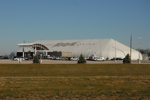 Indiana Downs' temporary casino