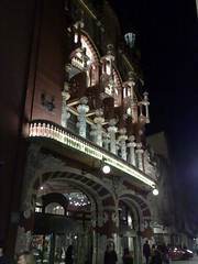 Barcelona - Palau de la Musica @ Night