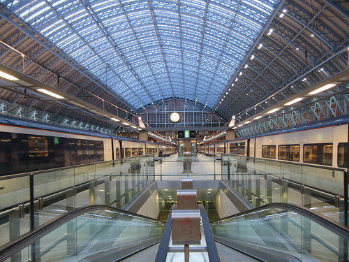 Train Chartering - Early morning Eurostars to Lille, Brussels and Paris