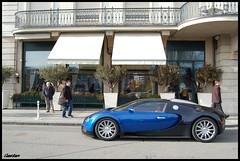 Bugatti Veyron (Gaetan | www.carbonphoto.fr) Tags: car voiture exotic coche million bugatti rare supercar luxe eb 1001 chevaux veyron