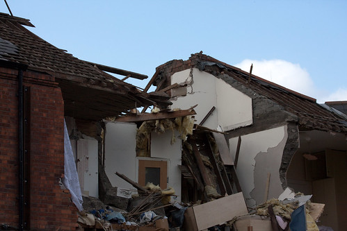 Destruction Caused By Gas Explosion