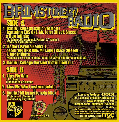 Radio-back