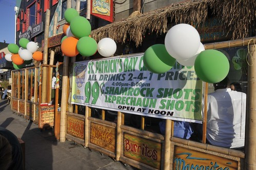 St Patricks Day Venice Beach