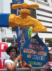 World Water Day Protest Action