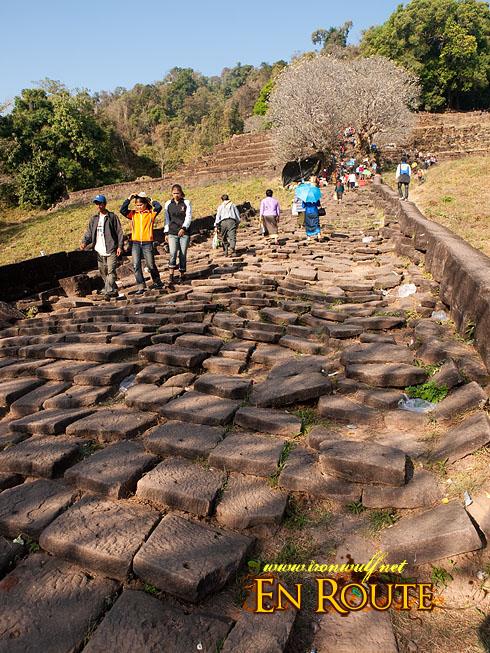 Wat Phu Champasak Festival Loose bricks