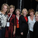 Jennifer Hedger; Bobbe Wood, President and CEO, Heart and Stroke Foundation of BC & Yukon; Sally Brown, CEO, Heart and Stroke Foundation of Canada;  Mrs. Loreen Harper, Marilyn Denis and Elizabeth Manley