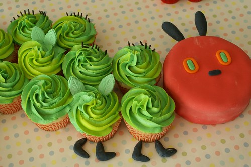 The Hungry Caterpillar Cupcake Cake!