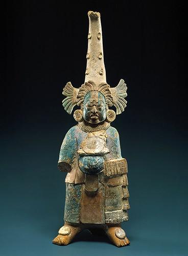 007-  Figura de cerámica-siglos VII al VIII México