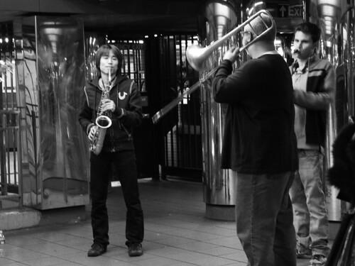 Jazz underground, NYC