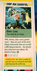 newzealand music magazine review stuff benlee