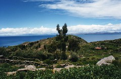 Island of Taquile on Lake Titicaca (wallygrom) Tags: peru laketiticaca titicaca island taquile isla isladetaquile