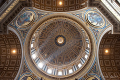 St. Peter's Basilica Dome (Sean Molin Photography) Tags: city vatican rome roma beautiful soldier european roman epic gladiator stpetersbasilica vacationeuropeitalyrome2009marchvacationitalli vacationeuropeitalyrome2009marchvacationitallian seanmolin wwwseanmolincom