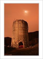 Horno (Cani Mancebo) Tags: longexposure night landscape spain mine minas paisaje murcia nocturna horno cartagena nighshot smelter abigfave largaexposicn canimancebo elgorgel