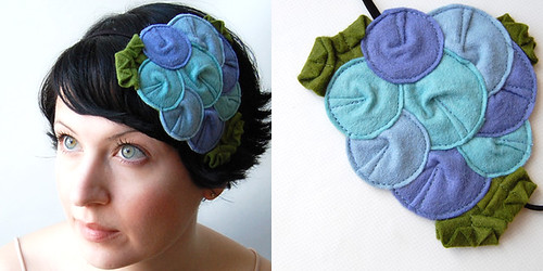 Rosette Fascinator // The Bluebird