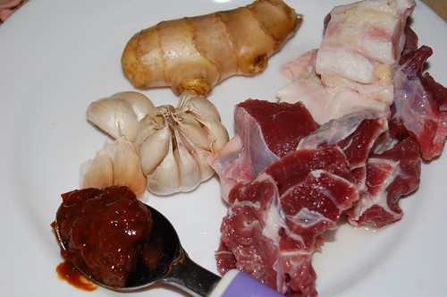 beef brisket - ngau lam