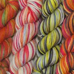 Dye-Ends on Peruvian Wool - 7 oz. (...a time to dye)