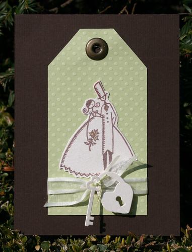 huwelijkskaartje/weddingkaart