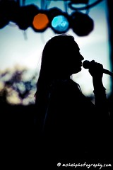 Sillhouette of Girl Singing (MShahPhotography) Tags: girl lights singing mic sillhouette jashan stagelights