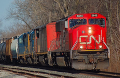 DSC_0005 (firephoto25) Tags: railroad ny cn train chili rochester freight canadiannational csx 5645