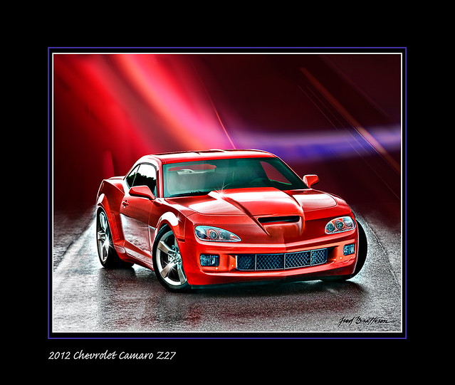 hot chevrolet camaro v8 2012 z27 worldcars