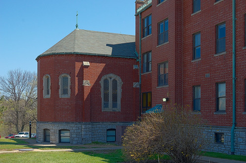 Former Daughters of Charity convent, at the University of Missouri - Saint Louis, in Normandy, Missouri, USA - small chapel exterior