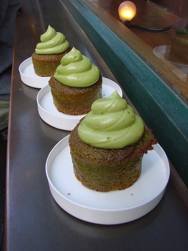 Green Tea Cupcakes from Amai