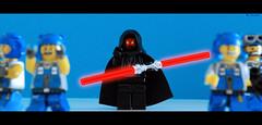 My turn to glow... (im.mick) Tags: photoshop star power lego darth wars minifig maul miners