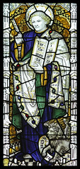 St Mark (Lawrence OP) Tags: cathedral lion wells somerset gospel stmark evangelist kempe