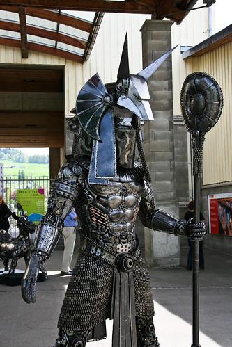 Recycle Art Sculpture