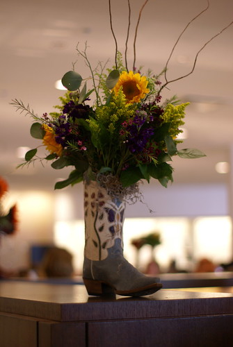 Cowboy Boot Centerpieces Cowboy Boots And Cowboys On Pinterest