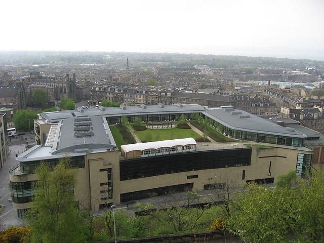 Impressive rooftop garden