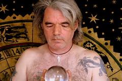 The Prophet (scottirvine) Tags: portrait self mystical crystalball