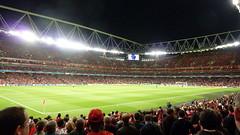Empty Emirates Stadium